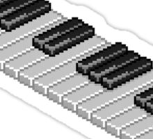 8-Bit Piano Key Sticker