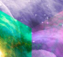 Orion Nebula Dodecahedron  Sticker