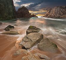 Bara Harbor - France - Quiberon - Brittany by Philippe Albanel