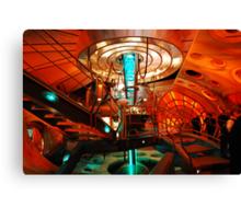 Interior 11 TARDIS Canvas Print