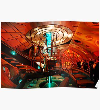 Interior 11 TARDIS Poster