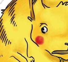 Toxic Pikachu Sticker Sticker