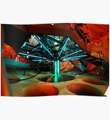 Interior 11 TARDIS - Underside Poster