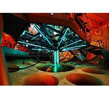 Interior 11 TARDIS - Underside Photographic Print