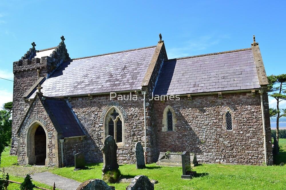 St Madoc's Church, Llanmadoc by Paula J James