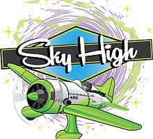 Sky High by kushcoast