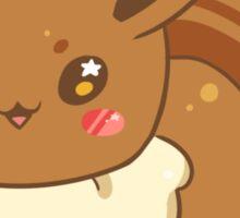 Chib Chibi Eevee Sticker Sticker