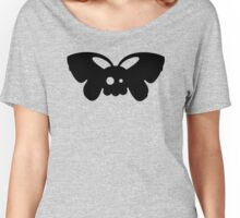 Cute Skull Moth Women's Relaxed Fit T-Shirt