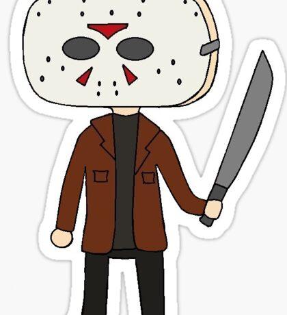 Jason Vorhees Sticker