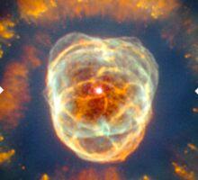 Eskimo Nebula | Fresh Universe Sticker