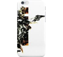 Metal Gear Solid: Solid snake iPhone Case/Skin