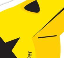 Whistle Yellow Sticker