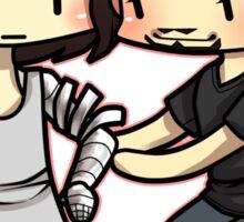 Tony and Bucky Sticker