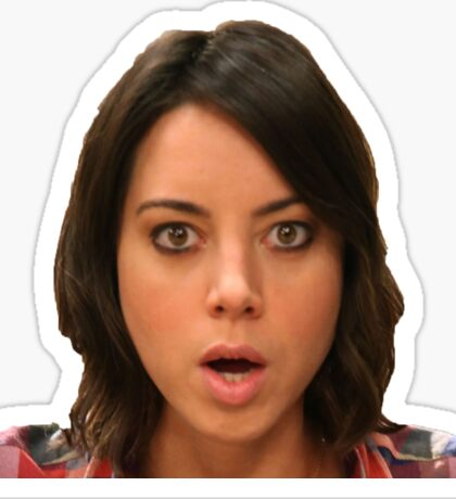 April Ludgate Sticker