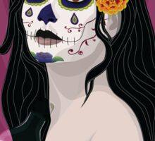 Dame of the Dead Sticker