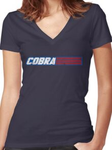Yo'bra! Women's Fitted V-Neck T-Shirt