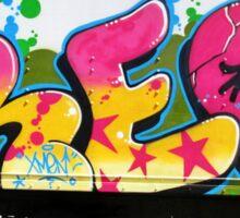 Fame City NYC Truck Art Sticker