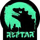 Repzilla (sticker) by RebelArts