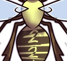 221 Bee Sticker