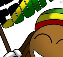 Rep Your Country Jamaica Sticker