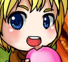 Attack on Titan Sticker Set : Macaron Armin Sticker