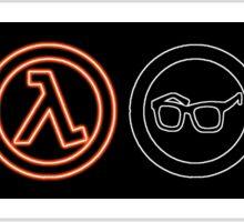 Half-Life symbols Sticker