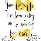 The card of destiny!  by twisteddoodles