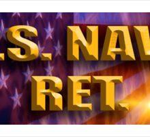 U.S. NAVY RET Sticker