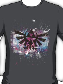 Triforce Emblem Splash T-Shirt