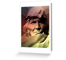 A Zuni Elder Greeting Card