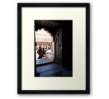 Doorway Arch Framed Print