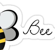 Bee happy! Sticker