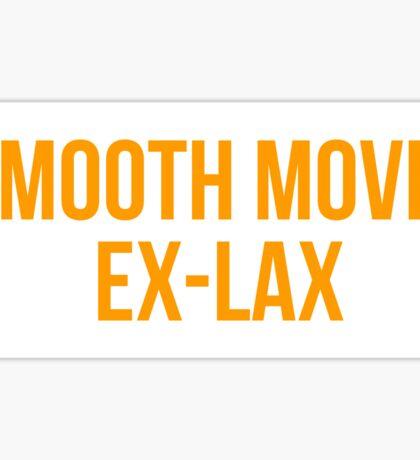 SMOOTH MOVE, EX-LAX Sticker