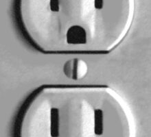 Funny - Outlet Cover Sticker