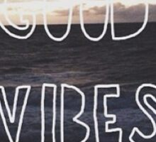 Hipster vibes sticker Sticker