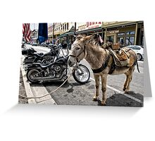 Alternative Forms of Transportation Greeting Card