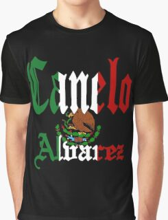 Canelo alvares mexican Graphic T-Shirt