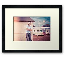 Retro Summer Framed Print