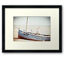 Sailing Days  Framed Print