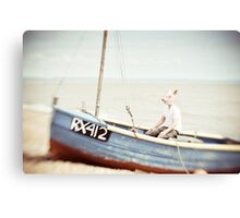 Sailing Days  Canvas Print