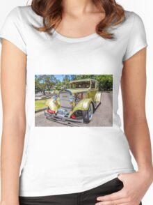 DODGE 12 Women's Fitted Scoop T-Shirt