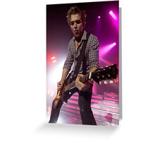 Tom Fletcher - McFly Greeting Card