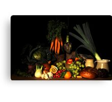 Bodegon still life  Canvas Print