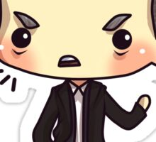 Hey!  Listen to Lestrade! Sticker