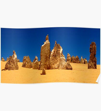 Nambung Desert Western Australia Poster