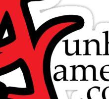 Unholy American - Site Url Sticker