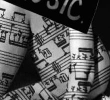 You can't overdose on music Sticker