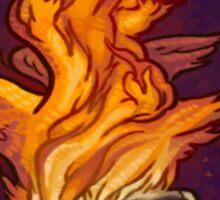 The Fallen Angel Pruflas Sticker