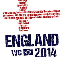 England WC 2014 by Bergsjo