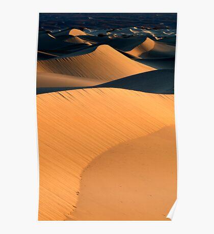 Mesquite Dunes Death Valley Poster